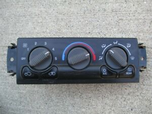 ISO heater climate controls