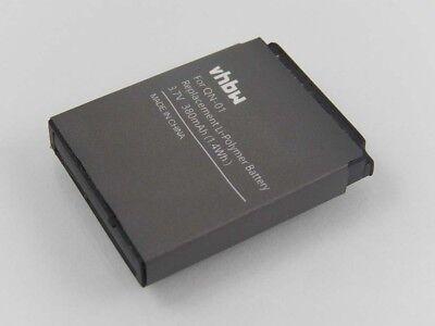 Akku Batterie 380mAh 3.7V Li-Po für SmartWatch QN-01, QN01, FYM-M9, LQ-S1