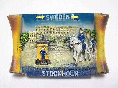 Estocolmo Candado Imán Rollo Souvenir Poli Suecia Escandinavia