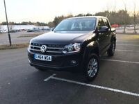 VOLKSWAGEN AMAROK DC TDI TRENDLINE 4MOTION 2014 - BRAND NEW ENGINE FITTED BY VOLKSWAGEN