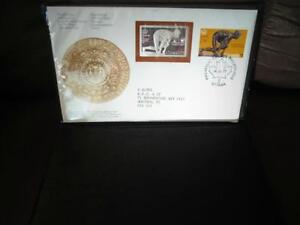 1976 Sterling Silver Stamp Commemorative First Day Cover