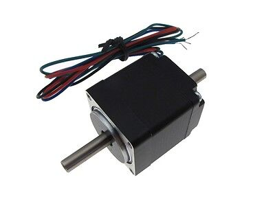 Nema11 28mm Dual Shaft Stepper Stepping Motor 2 Phase 1.8 Step Hollow