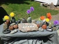Beautiful Stone Engraving for your garden