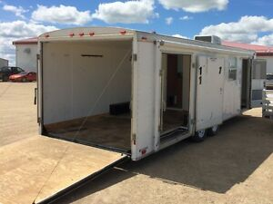 2002 Cargo Mate 8.5'x24' Toy Hauler/Office Trailer/Camper Enclos