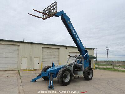 2007 Genie Gth-1056 56 10000 Lbs Telescopic Reach Forklift Telehandler Bidadoo