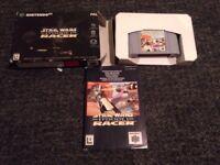 Star wars racer 1 Nintendo 64 n64 game