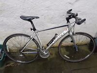 Giant Fluid form ALUXX SL gents road bike. As new condition used 3 times