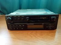 GRUNDIG WKC 3841 CASSETTE RADIO WITH CODE 80s 90s PERIOD RETRO CAR AUDIO