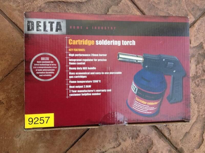 Soldering torch Delta | Hand Tools | Gumtree Australia