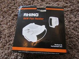 Rhino 2kw Fan Heater