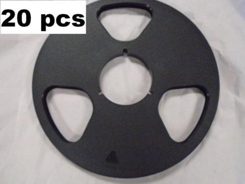 "20 X NEW NAB Plastic Take Up Reel Master 1/4"" 10.5"" Empty No Flange Metal Tape"