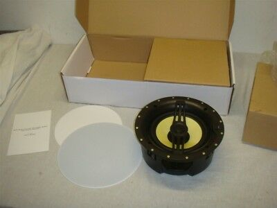 "MONOPRICE 8"" TWO-WAY IN CEILING SPEAKER PAIR W KEVLAR CONES/"