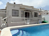 Villa with Private Pool COSTA BLANCA TORREVIEJA - June / July 2017 - Other Dates available.