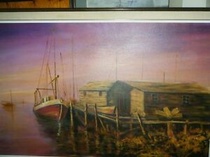 PAINTING FISHING BOAT