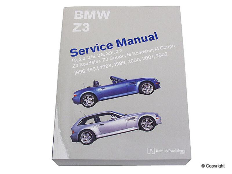 Bentley Repair Manual fits 1996-2002 BMW Z3  MFG NUMBER CATALOG