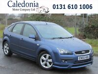 FORD FOCUS 2.0 ZETEC CLIMATE 5DR HEATED LEATHER (blue) 2006