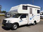 2010 Winnebago Huntsman, Toyota Hilux Motorhome Valentine Lake Macquarie Area Preview