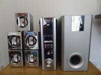 Panasonic SA-DM3 surround sound system and DVD player