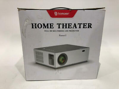 BOMAKER 1080p Full HD Projector Parrot 1 Used