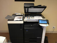 Konica Minolta Bizhub C451 Color Laser Copier/Printer/Scanner/Finisher/Serviced/Toners full/Superb !