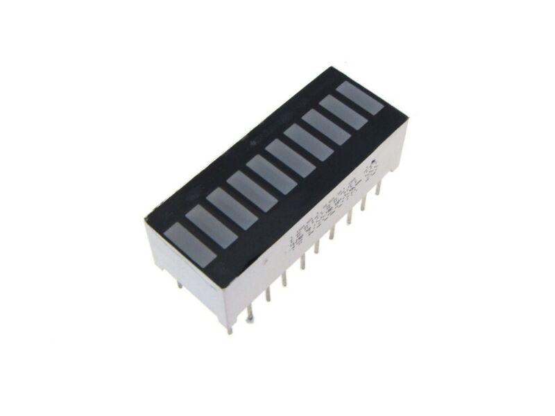 10-Segment LED BAR Graph Indicator DIP - Red - Pack of 2