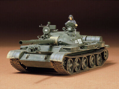 TAMIYA 35108 Russischer T-62A Kampfpanzer 1:35 Model Kit Bausatz