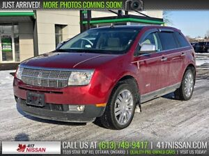 2009 Lincoln MKX AWD | Sunroof, Leather Htd Seats