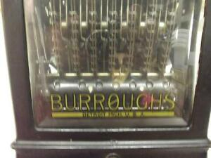 1888-1907 BURROUGHS ADDING MACHINE