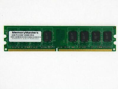 4GB PC2-5300 DDR2 non-ECC Unbuffered 240-Pin DIMM for