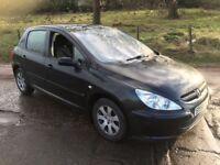 *** Peugeot 307hdi mot may 18 swap px car van ****