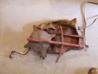 Very Old Manual Canvas Seeder