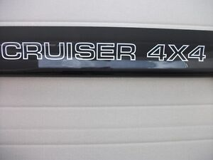 LANDCRUISER-80-SERIES-NEW-BLACK-BONNET-PROTECTOR-WITH-CRUISER-4X4-LOGO