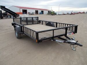 2017 Diamond C 2PSA 12'x83 Utility Trailer