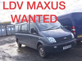 Ldv maxus iveco daily Mitsubishi canter Isuzu Volkswagen crafter wanted!!!