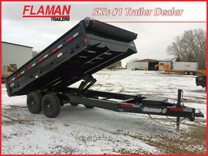 2016 Diamond C 25DOD Dump Trailer