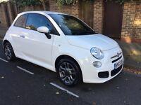 FIAT 500 S (white) 2013