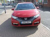 HONDA CIVIC I-VTEC ES (red) 2012