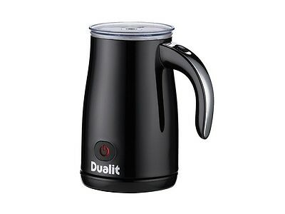 Dualit Milk Frother 84135 Black With Chrome Handle