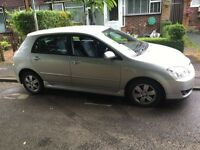 QUICK SALE! 2005 Toyota Corolla 2.0 Diesel T3 D4d Silver 5 Door like Corsa Golf Astra Ford Cheap car