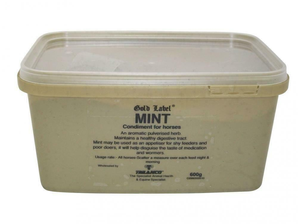 Gold Label Mint Horse Pony Feed Food Supplement
