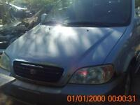 parting out 2002 kia sedona and others