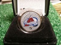 Colourized Colorado Avalanche Coin