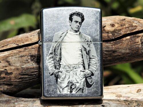 Zippo Lighter - James Dean Walking - Hollywood Icon - Roy Schatt Photo - Star