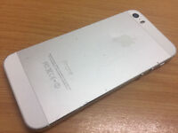 Broken Apple Iphone 5S 32GB SILVER MOBILE PHONE SPARES - ICL OUD OFF