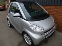 SMART FORTWO PASSION MHD COUPE (silver) 2009