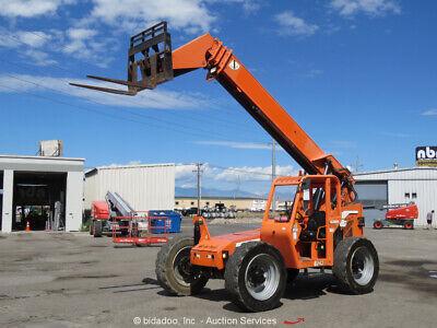 2013 Jlg Skytrak 6042 42 6000 Lbs Telescopic Reach Forklift Diesel Aux Bidadoo