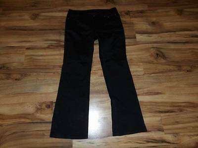 Womans misses size 10 black Harley Davidson pants EUC