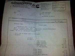 83 - 95 Ford ranger extended cab 2 piece drive shaft Windsor Region Ontario image 2