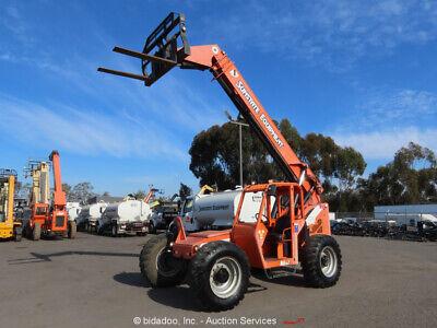 2012 Skytrak 8042 Telescopic 8k Reach Forklift 42 Telehandler Cummins Bidadoo