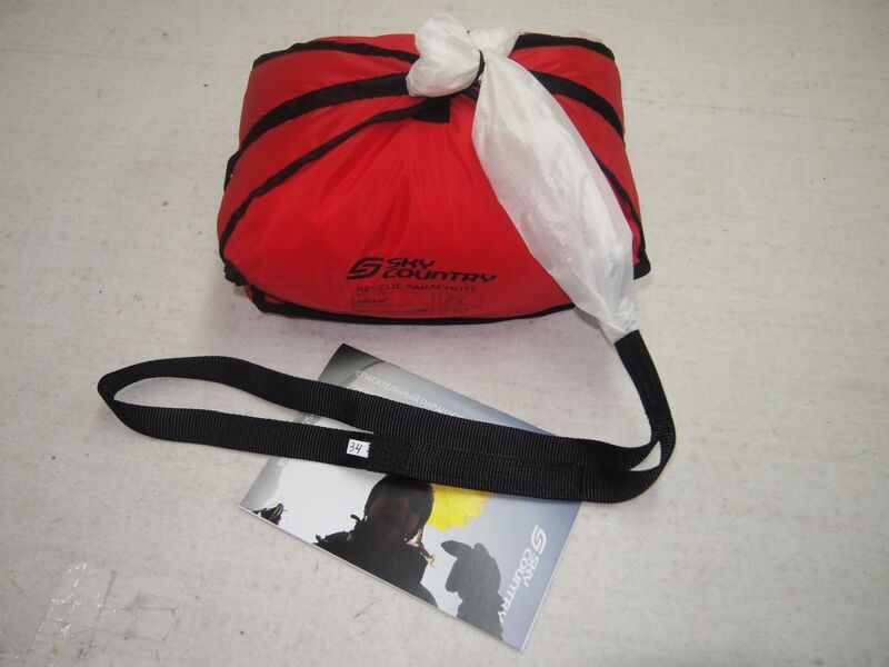 NEW reserve emergency parachute rescue SC-34 Hang Gliding Paragliding